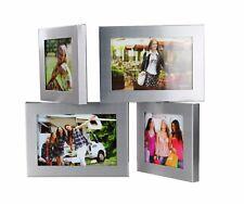 Stehend Aluminium Bilderrahmen für 4 Foto  Bildergalerie Galerie Fotorahmen