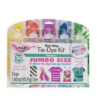 ☆☆ New Tulip One Step Tie Dye Kit 54 pc Jumbo Size Rainbow ☆☆
