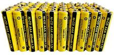 50 x AAA Rechargable Batterys 1.2V 400mAh Pack Electronic Devices Phones Toys