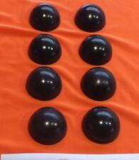 8 x Sorbothane Feet / Hemispheres 11mm. Diameter x 3mm.  Enhanced Isolation