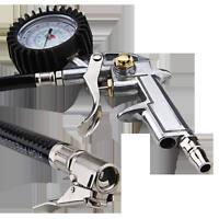 Car Motor Auto Air Compressor Tire Tyre Inflator Pressure Dial Gauge Meter