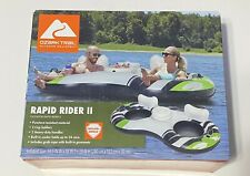 Ozark Trail Rapid Rider 2 Inflatable Double Water Tube - 2 Person Raft w/ Cooler