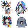 Fox/Horse/Lion Patches Heat Transfer Iron On Patch Washable Clothes Stickers DIY