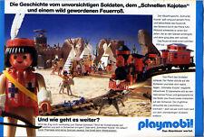 Playmobil-- Häuptlingssohn Schneller Kojote -Werbung von 1990--