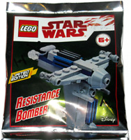 ORIGINAL LEGO STAR WARS LIMITED EDITION Foil Pack Resistance Bomber - 911944