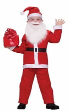 Child Simply Santa Claus Costume One Size
