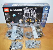 LEGO CREATOR NASA APOLLO 11 LUNAR LANDAR Set 10266 Incomplete Parts Box Lot