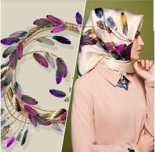 'ARMINE twil Seidentuch Kopftuch Schal Scarf Tuch Hijab Esarp 100% Seide/Silk