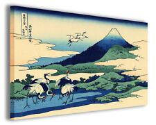 Quadro moderno Katsushika Hokusai vol XXIV stampa su tela canvas arredo poster