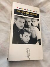 DEPECHE MODE Some Great Videos VHS movie, pre-owned - used