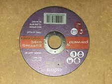 100 X WELDFLEX 4.5'' 115MM ANGLE GRINDER SLITTING CUTTING DISC 1.6MM THICK INOX