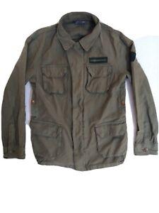 The Hundreds Men's Jacket Olive Green Size Large Pockets