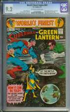 WORLD'S FINEST COMICS #201 CGC 9.2 OW/WH PAGES // SUPERMAN + GREEN LANTERN 1971