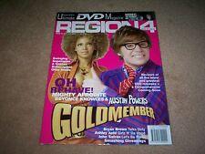REGION 4  DVD MAGAZINE ISSUE 22 2003 AUSTIN POWERS RESIDENT EVIL STARSHIP TROO