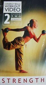 STRENGTH 2 Energy Balls Workout Video VHS 2002 Denise Druce Beginner to Expert