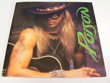 """POISON Every Rose Has It's Thorn Ex Capitol UK 1988 P/S 7"""""""
