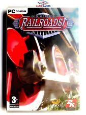 Sid Meier's Railroads PC Nuevo Precintado Videogame Videojuego Sealed New SPA