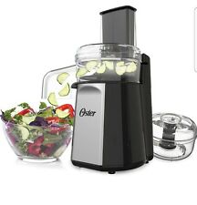 Oster 2-in-1 salad prep &food processor new unopened