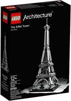 LEGO ARCHITECTURE 21019 EIFFEL TOWER LA TORRE EIFFEL NUOVO NEW