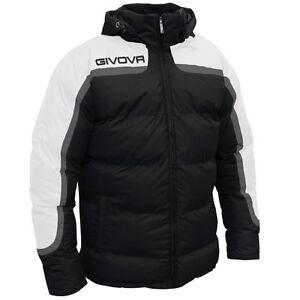 Giubbotto Givova Antartide G010 Colore Nero/Bianco 1003