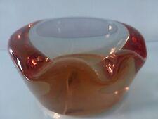 Sevres of France Alexandrite Cigar Glass Ashtray, Marked