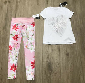 Guess Girls Sports Outfit Age 8 Yrs BNWT