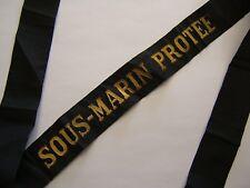 SOUS MARIN PROTÉE 1930-1943 Marine Ruban légendé Bande bachi ORIGINAL submarine