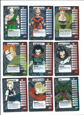 Dragon Ball Z DBZ CCG Score Cell Saga Wrapper Redemption HT Promo Lot x9 Foil