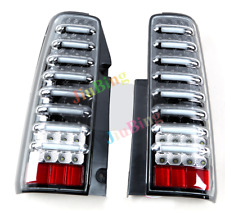 Black Clear Pair LED Turn Signal Brake Lamps Tail Lights For Suzuki JIMNY JB43 s