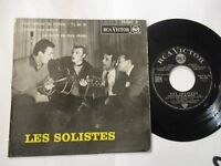 ultra rar ep 45t les solistes rca 76.620  JOHNNY HALLYDAY rca victor original