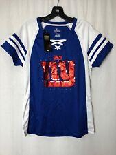 NWT Majestic Fan Fashion NY Giants Jersey Top, Size L