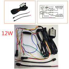 Automatic On/Off Dependent Module Box LED Daytime Running Light Control Line Set