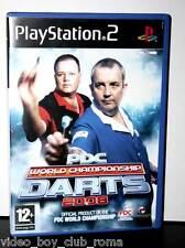 PDC WORLD CHAMPIONSHIP DARTS 2008 GIOCO USATO BUONO SONY PS2 ED UK 32084