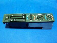 Commande chauffage clim BMW E34 ref 8.351.651 avec  les boutons