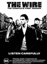 The Wire : Season 1 (DVD, 2005, 5-Disc Set) R- 4, NEW FREE POST IN AUSTRALIA