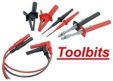 Multimeter Lead & Probes Set. 4mm Connectors. T511210