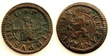 Spain-Felipe III. 2 Maravedis. 1602. Segovia. Cobre 1,6 g.