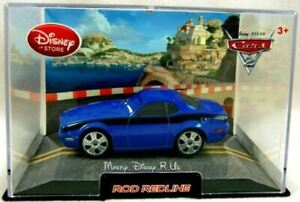 "New Disney Store CARS 2 Rod ""Torquey"" Redline Diecast Replica Collector Car Case"