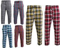 Mens nightwear Pyjama Bottoms Check Lounge Wear