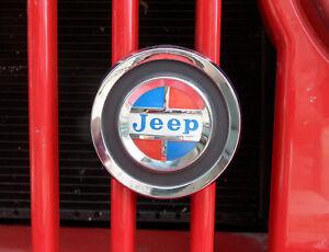 Jeep Commando, Jeep CJ, Jeep Gladiator, Jeep J Series , Wagoneer Grill Badge