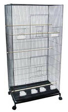 """55"""" Extra Large Flight Multiple Parakeets Canaries Finches LoveBird Bird Cage 69"""