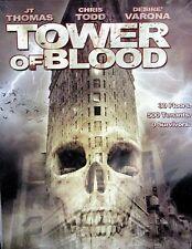 Tower of Blood DVD Horror Gore Murder Mental Hospital Psycho Killer JT Thomas