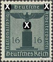 Deutsches Reich D162 postfrisch 1942 Dienstmarken