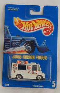 Chevrolet Box-Style Truck Good Humor Ice Cream Hot Wheels Blue Card 1992-5