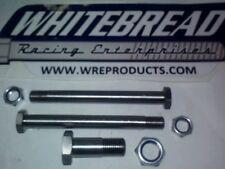 """Sprint Car , Race Car ,titanium W-LINK 3 bolt kit 1/2"""" bolt w-link to birdcage"""