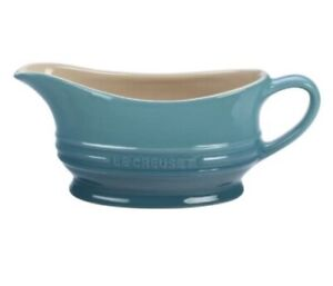 New Le Creuset Gravy Boat - Caribbean Blue / Aqua / Teal / Turquoise