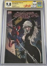 Amazing Spiderman #15 Aspen Turner Color Variant Signed by Stan Lee CGC 9.8 SS