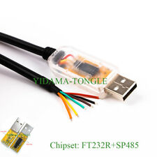 FTDI USB RS485 CONVERTER CABLE, USB TO RS485 SERIAL WIRE END WIN8 WIN10 ANDROID