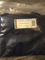 Longaberger Large Boardwalk Basket Indigo Blue Fabric Over Edge Liner Only New