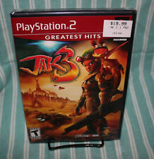 Jak 3 PS2 BRAND NEW Factory Sealed NIB GH Sony Naughty Dog Free Shipping Daxter